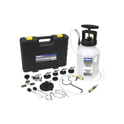 Mityvac Pressure Bleed System 1.2 Gal. Fluid Capacity 7-adapter Sealed Component