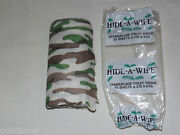 Novelty Gift Hunting Camping 1986 Scotia Ny Hide A Wipe Camouflage Toilet Tissue