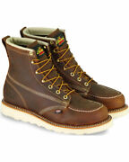 Thorogood Menand039s 6 American Heritage Maxwear Wedge Sole Work Boots - Soft Toe