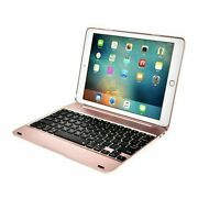 10x Rose Gold Rotating Bluetooth Keyboard Smart Cover Case For Ipad 9.7 Air 2