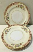 Noritake Harmony 5 Piece Bread And Butter Bone China Made In Occupied Japan A+