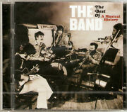 The Band - The Best Of / A Musical History Cd+dvd 2007 New/sealed