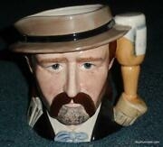 Wild Bill Hickock Royal Doulton Character Jug D6736 - The Wild West Collection