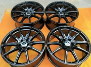20 New Blacked Oem Factory Mercedes S63 S65 S550 Cl65 Amg Wheels Rims. Germany.