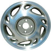 Oem Recon 15x6 Alloy Wheel Charcoal Silver Painted With Machined Face 560-7008