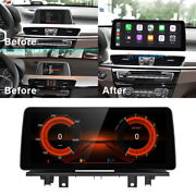12.3 Ips Android Car Stereo Radio Gps Player Bt For Bmw X1 F48 2018 Evo System