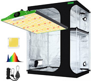 Viparspectra Pro Series P1500 Led Grow Light With 5and039x4and039 Mylar Hydroponic...
