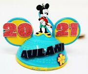 Disney Aulani Resort Holiday Christmas Ornament Mickey Mouse Ears 2021 Sold Out