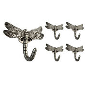 Franklin Brass B46145m-c Pewter Single Prong Coat And Hat Hook - 5 Pack