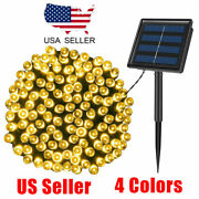 Ooutdoor Solar 50/100/500 Led String Fairy Lights Party Christmas Xmas Lamp Us