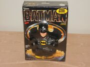 Vintage Toy Nos 1989 Ralston Batman Cereal With Bank Sealed New Old Stock