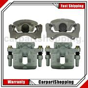 Centric Parts Front Rear Left Rear Right 4 Of Disc Brake Calipers For Lancer