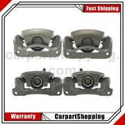 4 Centric Parts Disc Brake Caliper Front Left Front Right Rear For Toyota Camry