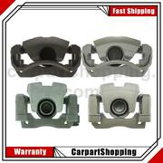 4 Centric Parts Disc Brake Caliper Front Left Front Right Rear For Camry Toyota