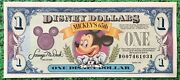 1993 Disney Dollar Mickey Mouse Celebrating His 65th Birthday Uncirculated
