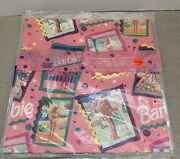 Lot Of 4 Cleo Barbie 1992 Wrapping Paper 2 Sheets
