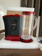 Lourdes High Concentration Hydrogen Water Generator Wine Red From Japan Used
