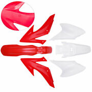 Complete Body Red Frame Side Cover Fairing Kits For 08-09 12-14 Crf230f Crf150f