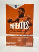 Wheaties Century Collection Gold Box 1 Muhammad Ali - Ready To Ship