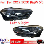 4pc Oem For 2019 2020 Bmw X5 Led Headlight Left Driver And Right Passenger Side Us
