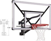 Silverback Nxt 54 Wall Mounted Adjustable-height Basketball Hoop With Quickplay