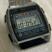 Used Seiko Alba Y761-5000 Digital Game Watch Retro Shipping From Japan Tracking