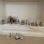 Norman Rockwell Figurines Vintage Lot Of 13 Great Condition Read For Details
