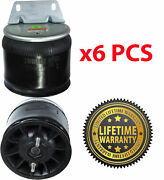 Pack Of 6 Air Spring Bag For Kenworth Trucks Replaces W01-358-9616 , 1r11-242