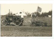Rppc Famous Woman Suffragettes Military Army Marines American Flag Tractor