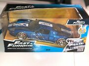 John Force Richard Petty Signedand039 Diecast 1/24 Scale Blue Ford Gt Bigtimeand039jadaand039