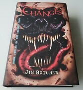 Changes By Jim Butcher Subterranean Press Signed Limited Edition Dresden Files