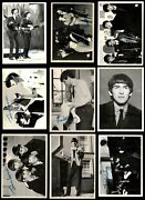 1964 Topps Beatles Black And White Partial Complete Set 5 - Ex