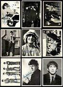 1964 Topps Beatles Black And White Partial Complete Set 4.5 - Vg/ex+
