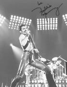 Reprint - Freddie Mercury Live Aid Queen Autographed Signed 8 X 10 Photo Poster