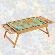Wooden Jigsaw Puzzle Table 26 X 34 Jigsaw Puzzle Board Portable Foldable Leg