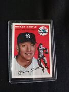 Topps Vintage -mickey Mantle Cards- Chek Photos