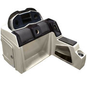 Pontoon Boat Steering Console 180695-01   38 1/2 Inch Beige Scratches