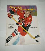 1965 Newsstand Sports Illustrated Bobby Hull Chicago Black Hawks No Label