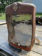 Allis Chalmers D17 Grill Shell And Grill Tag 392