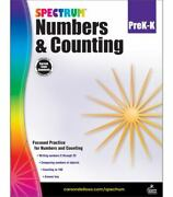 Spectrum Ser. Numbers And Counting Grades Pk - K 2016 Trade Paperback