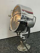 Vintage 1960's Francis Mk1 7 Searchlight With Bracket Marine Boat House Lamp