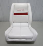 1991 Wellcraft 186 Xl Eclipse Boat White Red Captains Chair Helm Seat 23 X 22