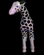 Large Giraffe Statue. He Stands 22in Tall