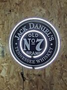 Custom 18 Vintage Style Jack Daniels Led Neon Sign With Dual White Light
