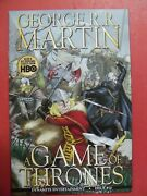 George R. R. Martin A Game Of Thrones 10 9.4 Or Better Dynamite Comics 2012