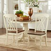 Mackenzie Country Style Two-tone Dining Chairs Set Of 2 By