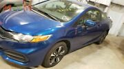 Driver Left Front Door Electric Coupe Fits 13-15 Civic 2034460