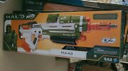 Nerf Halo Ma40 Motorized Dart Blaster Brand New Same Day Shipping Includes 10 Rd
