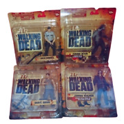 Mcfarlane Toys The Walking Dead 5 Inch Action Figure Series 1 All 4 Types Set