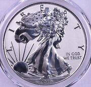 2019-s American Silver Eagle - Pcgs Pr70 Enhanced Reverse Proof With Box And Coa